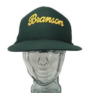Cobra Caps Branson Missouri Trucker Hat Green OSFM
